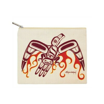 Zippered Pouch - Phoenix Rising