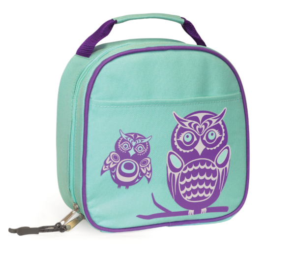 Insulated Lunch Bag - Owls