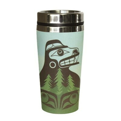 Bamboo Travel Mug - Bear the Tree Hugger