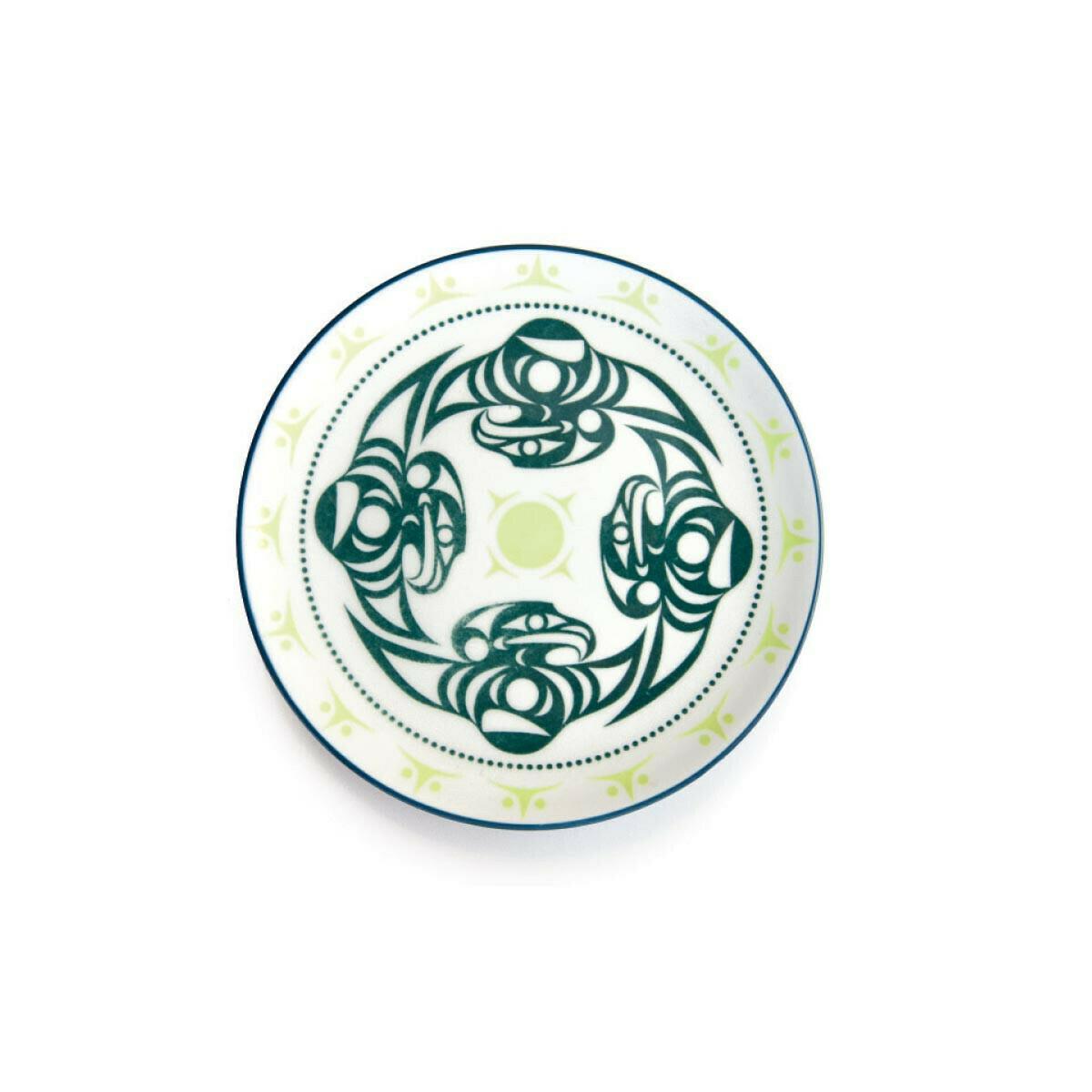Porcelain Art Plate - Thunderbird