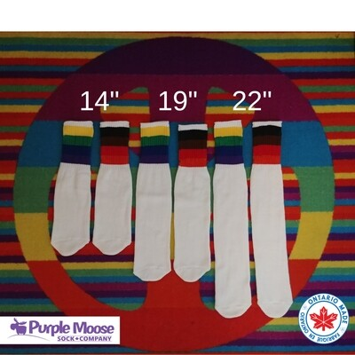 "8 Colour Pride Tube  - 22"" Length"