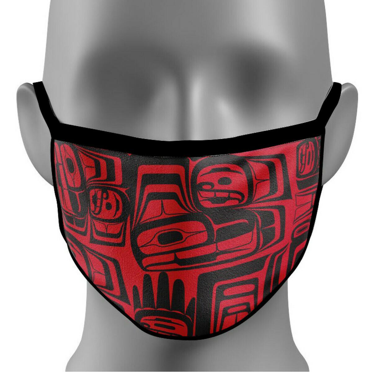 Reusable Cotton Mask - Eagle Crest
