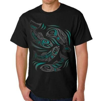 T-Shirt - Sacred Salmon