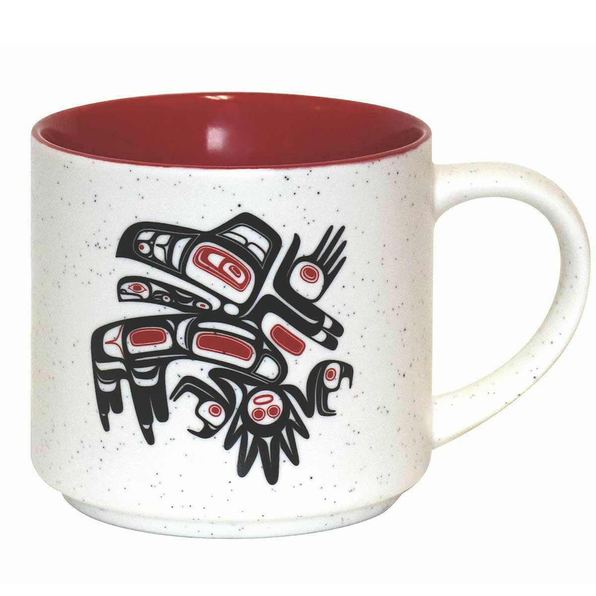 Ceramic Mug - Running Raven