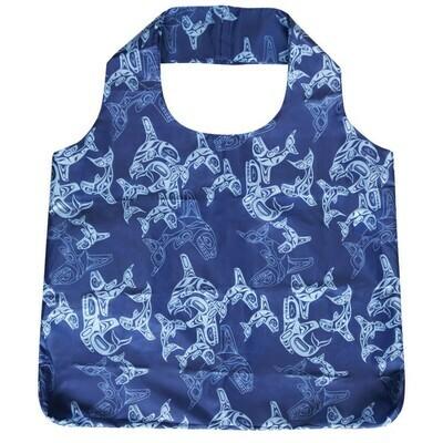 Shopping Bag - Orca Family