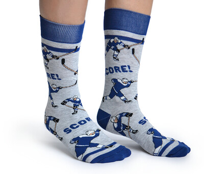 Blue Hockey Socks