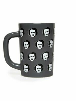 Edgar Allan Poe-ka Dots mug