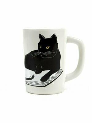 Bookstore Cats mug