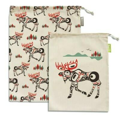 Set of 2 Reusable Produce Bags