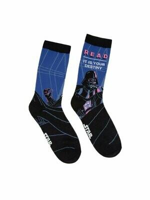 Darth Vader Star Wars READ socks