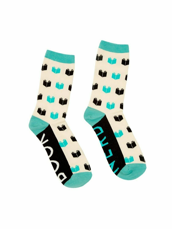 Book Nerd socks