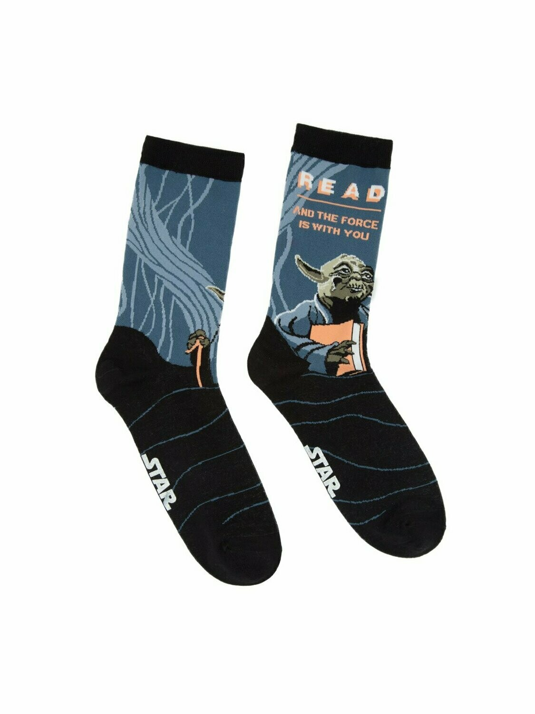 Yoda Star Wars READ socks