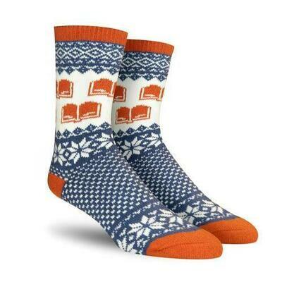 Winter Reading cozy socks