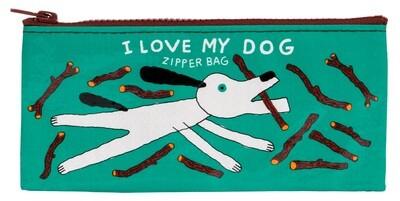 I Love My Dog pencil case