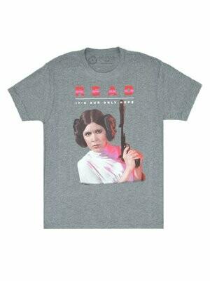 Princess Leia Star Wars READ Unisex T-Shirt
