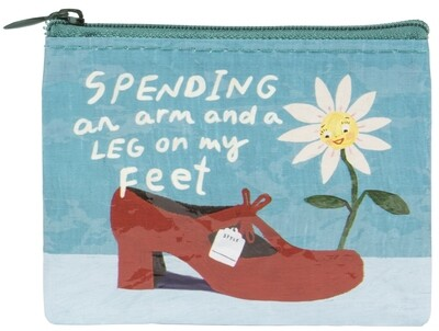 Spending An Arm And A Leg coin purse