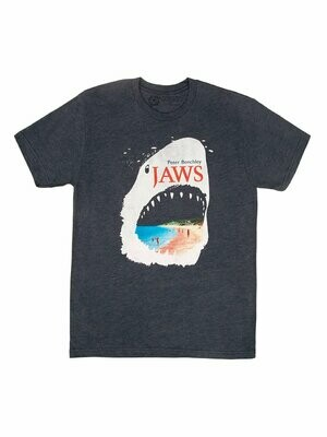 Jaws Unisex book T-Shirt