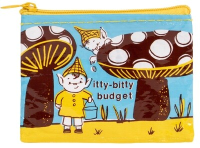 Itty-Bitty Budget coin purse