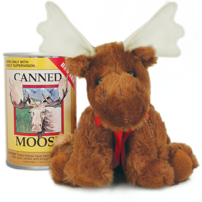 """6"""" Canned Moose"""