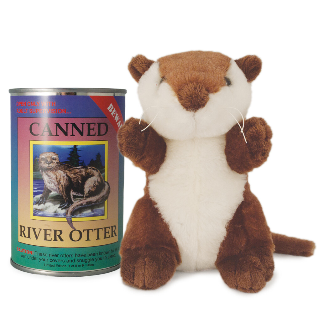 """6"""" Canned River Otter"""