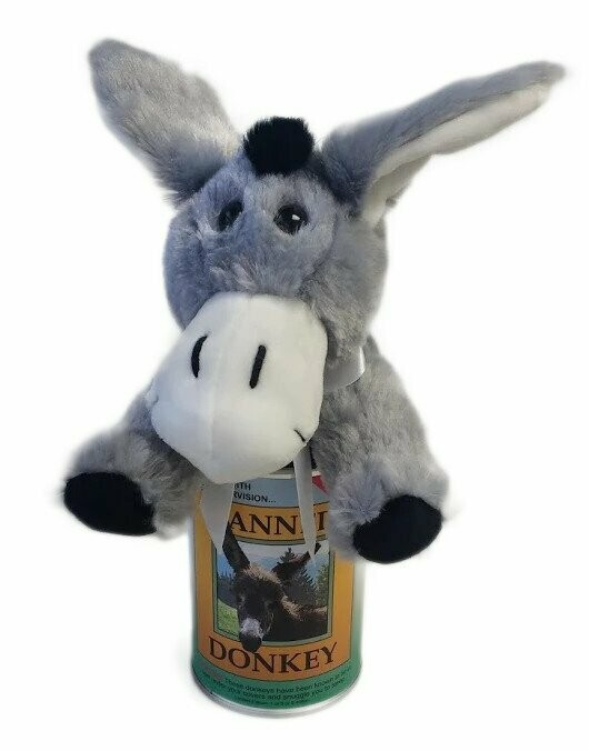 """6"""" Canned Donkey"""