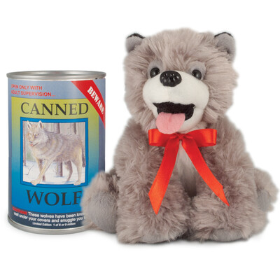 """6"""" Canned Wolf"""
