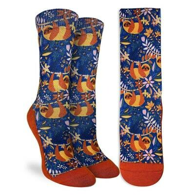 Sloths Hanging Out Socks