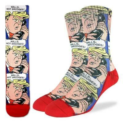 Donald Trump Pop Art Socks