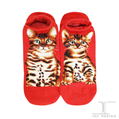 Cats - Bengal Ankle Socks