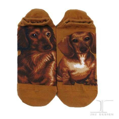 Dogs - Dachshund Ankle Socks