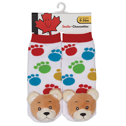 Bear Plush socks
