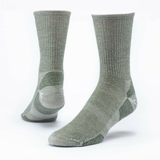 Urban Trail Organic Merino Wool Crew Socks