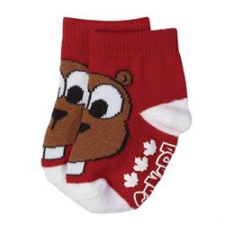 Red Beaver socks