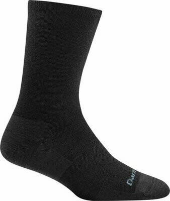 WOMEN'S SOLID BASIC CREW LIGHTWEIGHT LIFESTYLE SOCK