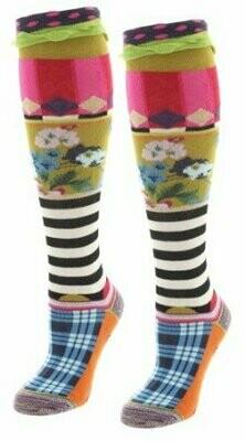Dub & Drino Knee High Stripe and Flowers