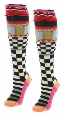 Dub & Drino Knee High Checkerboard