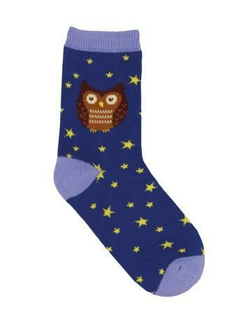 Hoot's The Cutest? Owl Kids Socks