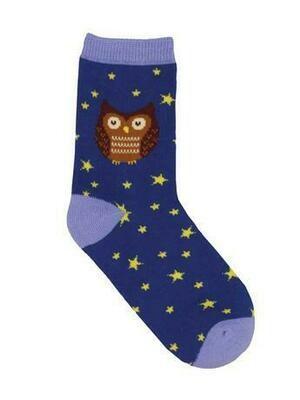 Hoot's The Cutest? Owl Kids Socks
