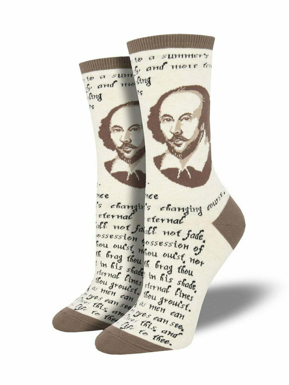 Shakespeare Sonnet Socks