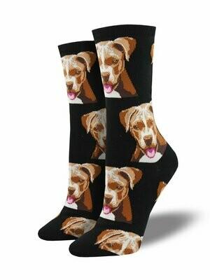 Pitt Bull Dog Socks
