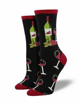 Wine Scene Socks