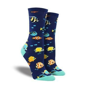 Stay In School Fish Socks