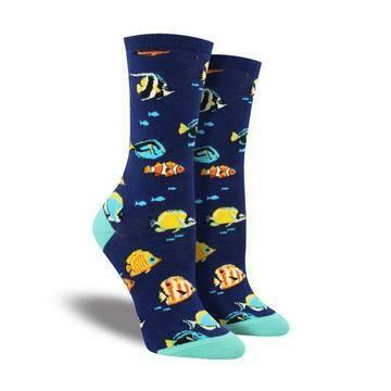 Stay In School Fish Socks
