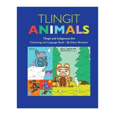 Colouring Book - Tlingit Animals