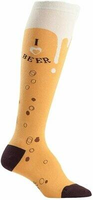I Love Beer Knee High