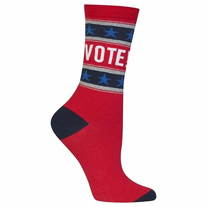 Vote! Crew Socks