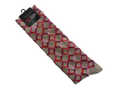 Geometric Knee High Socks