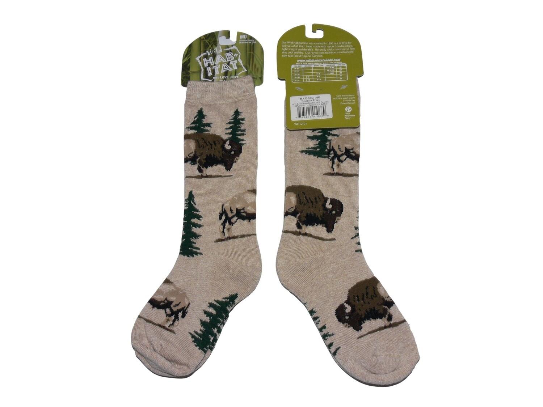 Wild Habitat Kids Bamboo Socks - Bison