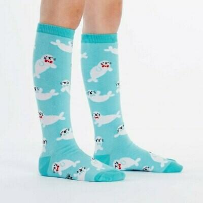 Baby Seals Kids Knee High Socks