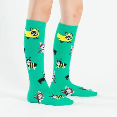 Costume Party Kids Knee High Socks